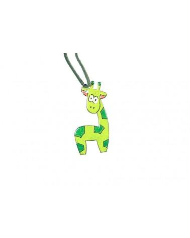 Smaltovaný přívěsek - žirafa