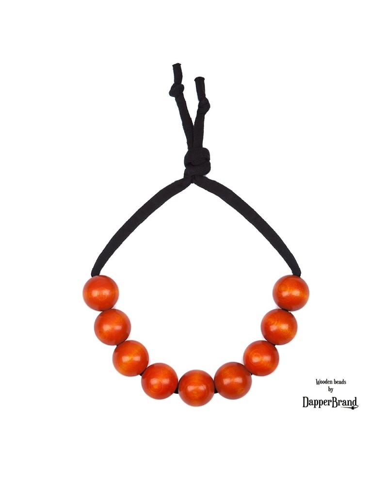 Oranžové poloviční korále